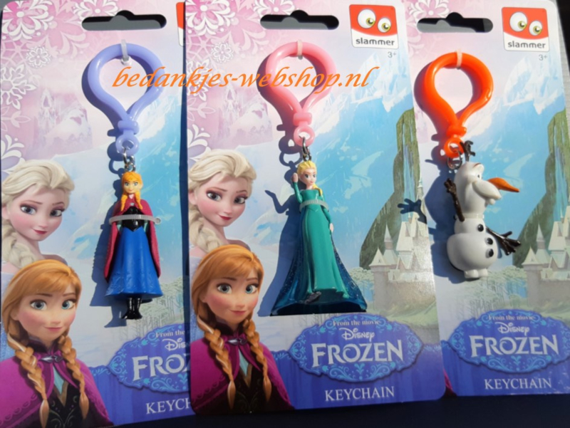 Sleutelhanger Frozen (Licentie)