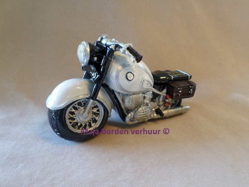 Spaarpot motor custom cruiser wit