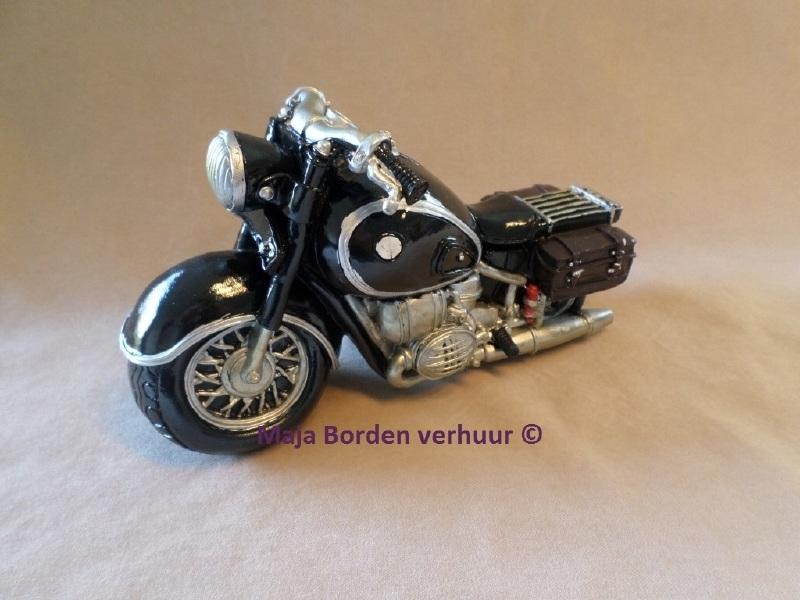 Spaarpot motor custom cruiser zwart