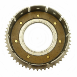 Royal Enfield Bullet 350 - 500 Clutch chainwheel c/w bearing 4 - plate version (144495)