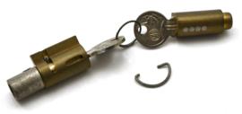 FAB lock & key assy, Partno. 4519 634 30  010 / 634 30 013 / 634 30 185 (559 30 010)