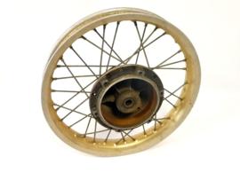 Maico Motocross rear wheel, bare