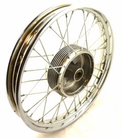 """Jawa / CZ wheel 1.85x18"""" without brake plate (634 56 110 / 487 56 100)"""