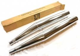 Triumph T160 genuine silencers pair (71-4402)