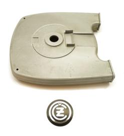 CZ 471/00 Sport 250 Rear chaincases inner + outer, Partno. 471-03-040 + 471-03-050