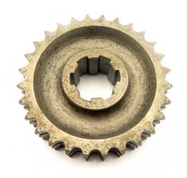 """NRE - Weslake engine sprocket 3/8""""pitch, triplex 28T (N102)"""