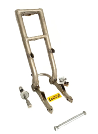 Wasp Sidecar-cross Front Forks c/w swinging arm & sundries