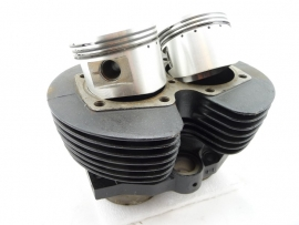 Triumph T140 cylinder + Hepolite piston set STD (71-4006 / 71-4005 / 71-3335)