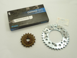 Yamaha 650 Twins, chain & sprocket kit  256-17461-70 / 256- 25433-20