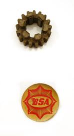 BSA DBD 34 Layshaft gear 17T, Partno. 42-3086
