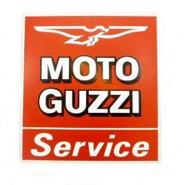 Moto Guzzi dealer sign