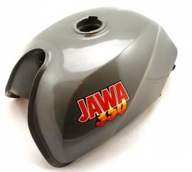 Jawa 640-641 petrol tank silver, white, red, green, blue, black style (640 38 100)
