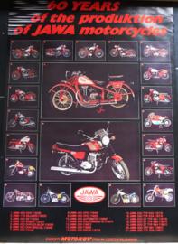 Jawa 60 years anniversary poster