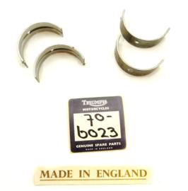 Triumph T150 + BSA A75 Main bearing shells std size, Partno. 70-6023