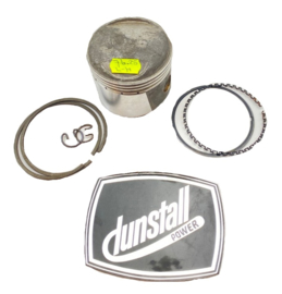 Norton Dunstall 810 CC piston complete  LH only 76.25 mm