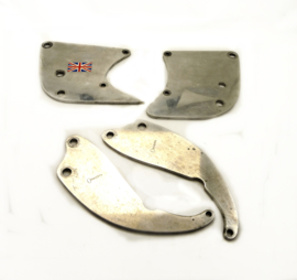 Norton/Triumph Triton Dural engine plates