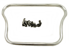 Royal Enfield Front crashbar chrome-plated c/w fittings