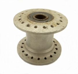 Wasp sidecar wheel hub cast alloy 36 holes