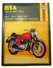 BSA A50-A65 Haynes workshop manual