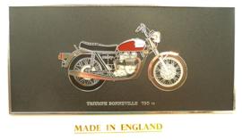 Wall plaque Triumph Bonneville 750
