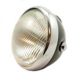 "Lucas type headlamp 7"" c/w panel (SSU700 + 50788F)"