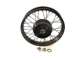 "Velorex sidecar wheel 1.85 x 16"" without brakeplate  620.51.360"