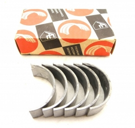 "Triumph / BSA triples Big end bearings  shells    genuine Glacier   0.40"" undersize  70-9026  B3053LC   LC = Lead-Copper"