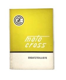CZ Motocross 125 - 250 - 400 Ersatzteilliste