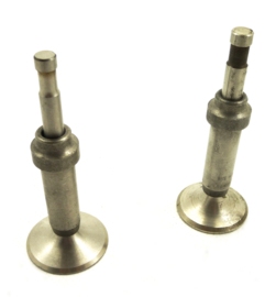 BSA B31-B32 Set of 2 valves + guides (65-1111 / 65-1110)