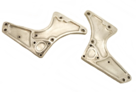 Norton Commando 750-850 MK2 Pair of footrest support plates LH+RH (06.0944 LH / 06.1228 RH)