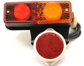 Velorex 700 led rear lamp assy 12 volt c/w reflectors replaces Part no: 443 312 251 104
