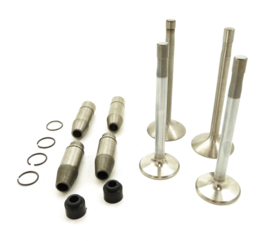 Norton Commando 850 valve & guide set (06.4034, 06.5115, 06.5027, 06.5024)