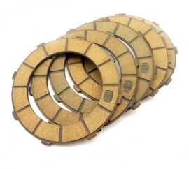 CZ Singles clutch friction plate set