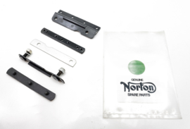 Norton Commando 850 MK3 Hinge set cplt for dual seat, Partno. 06.6353/6349/6253 etc