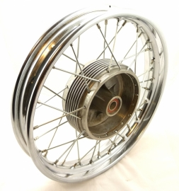 "Velorex side-car wheel, wide rim 2.15-16"" without brake plate (620 51 360)"