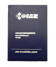 MZ (iFA) Reparaturhandbuch Workshop manual Type ETZ 250 (German language)