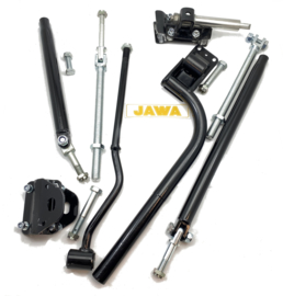 Velorex Jawa sidecar fitting kit, Partno. 562-08-634