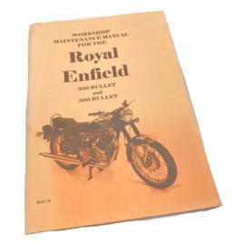 Royal Enfield Workshop manual Bullet 350 + 500 + Sixty-5