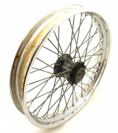 BSA Victor B44 motocross rear wheel complete QD hub