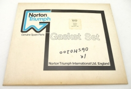 Norton Commando 850 Mk2 Mk2a gasket set genuine (06-5030)