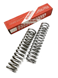 Girling Oil + gasshocks chrome springs. Partno. 9054/280
