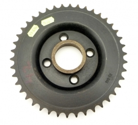 BSA rear wheel sprocket with Ariel full width hub (42-6069) (42-6333)