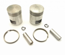 Jawa 350 Twins 634 piston set complete LH + RH (4519 63312150 - 63312160)