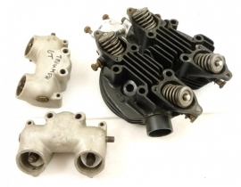 Triumph 6T cylinder head cplt (70-2896, E2896)
