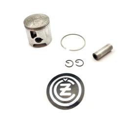 CZ MX 125 Piston complete 55 mm c/w chrome top ring (51912 220)