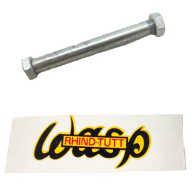 Wasp Velorex Sidecar swinging arm spindle + nut (steel/plated)