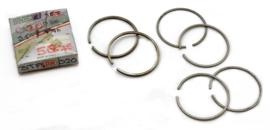 "Triumph 3TA-Tiger 90 350 OH Twins 1957-1968 Piston ring set     0.20"" oversize      ( 58.75mm diameter)"