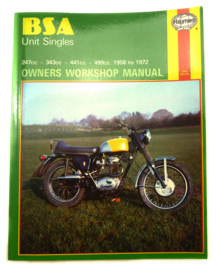 BSA C15-B50 Haynes workshop manual