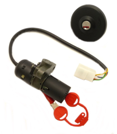 Jawa 650 / 836 Classic Complete set of ignition lock & tank cap with lock & keys (836 63 020)