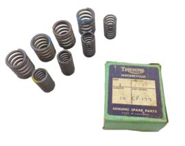 Triumph 5TA - T100 A - T100 S  500 OHV Unit Twins Valve spring set       Opn   C.P.177  =  (E4011 - E5946)